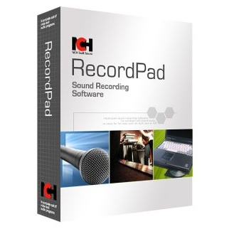 RecordPad Sound Recording Software by NCH Software/RecordPad音声録音ソフト